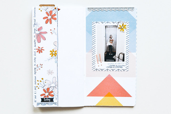 Traveler's Notebook Pages by Suzanna Stein | @FelicityJane