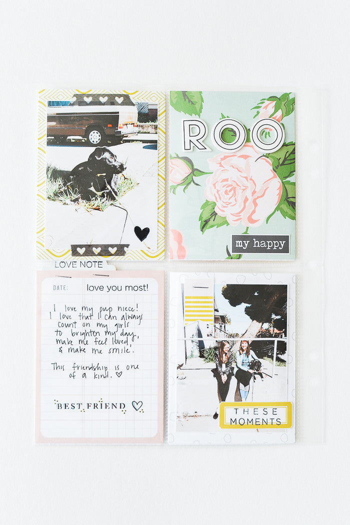 These Moments Pocket Page by Suzanna Stein | @FelicityJane