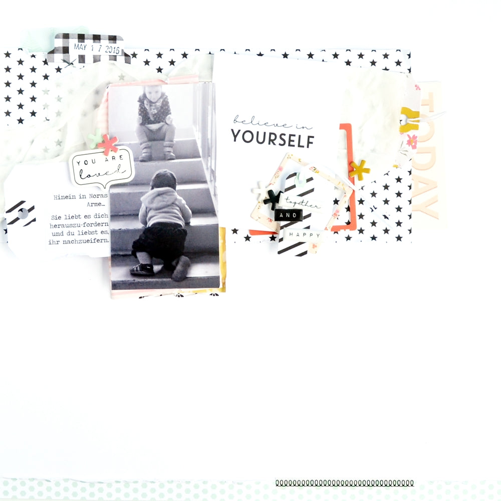 Scrapbook Layout by Anne Keller for Felicity Jane