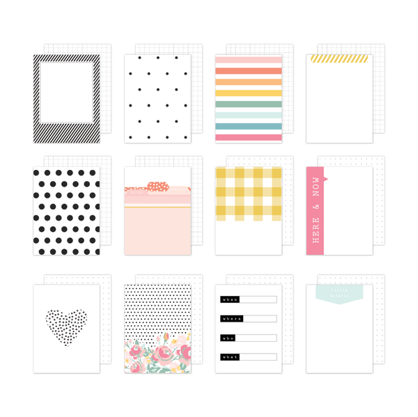 Brie | Journaling Cards