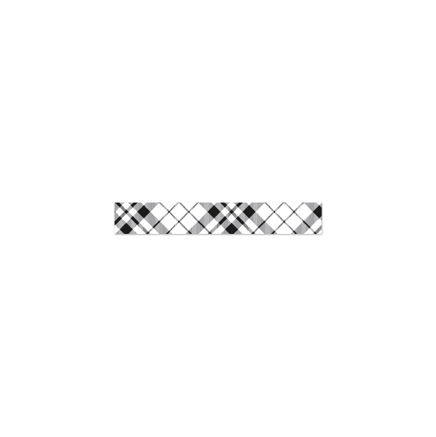 Coco | Washi Tape | Plaid