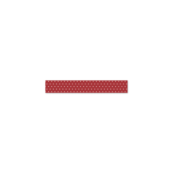 Coco | Washi Tape | Red Swiss Dot