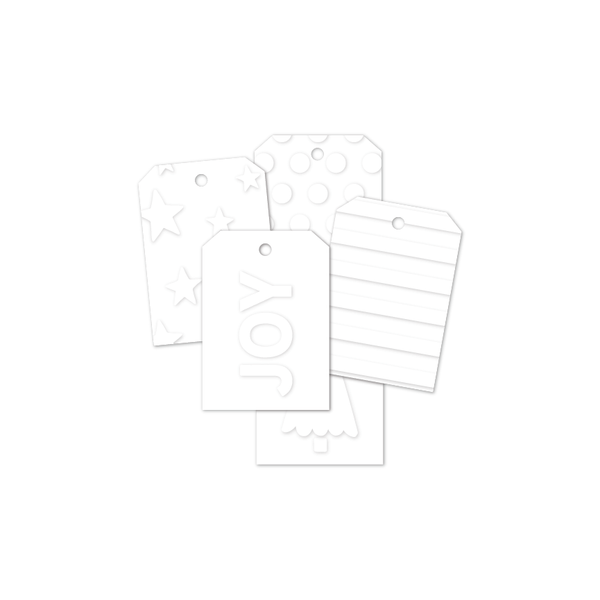 Coco | Embossed Designer Gift Tags