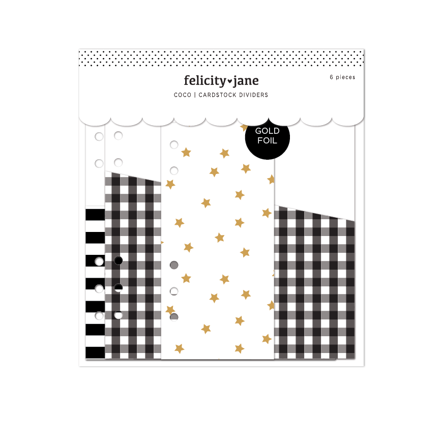 Coco | Cardstock Dividers