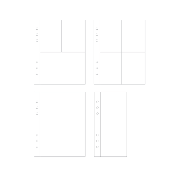 Page Protectors | Variety Pack - Coco