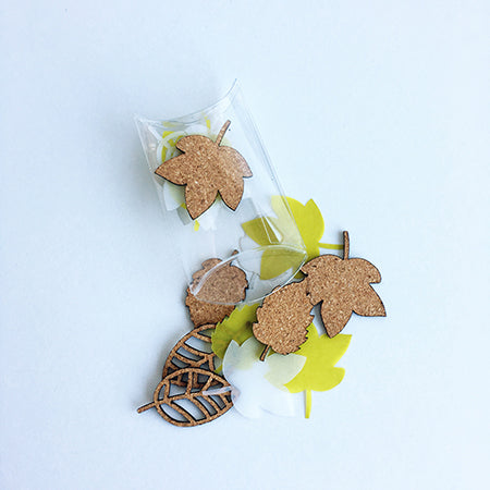 Autumn | Cork & Vellum Leaves