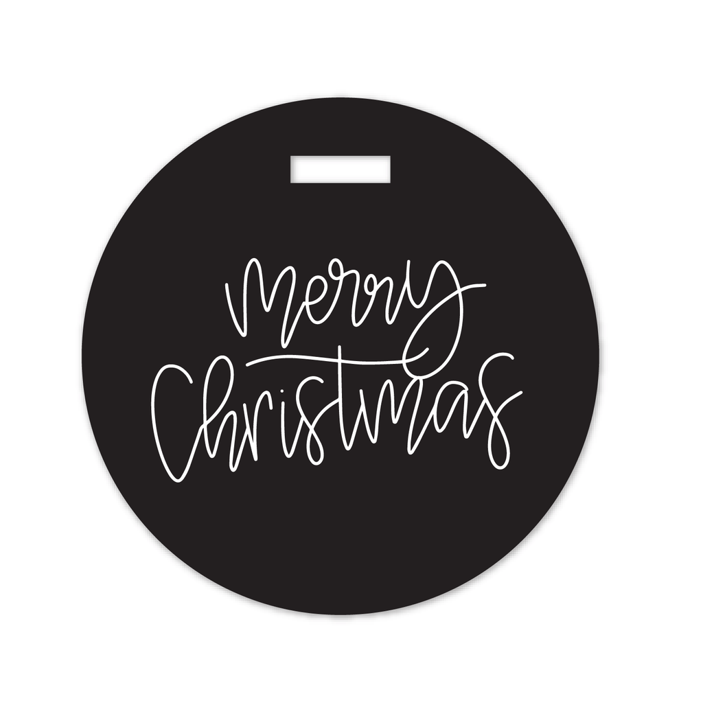 cut file | scripty merry christmas tag