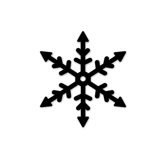 cut file | christmas snowflake