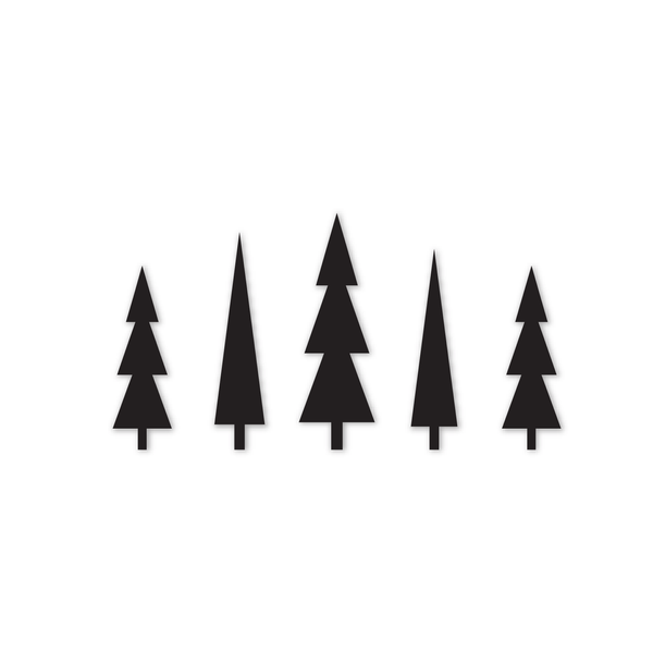cut file | christmas trees