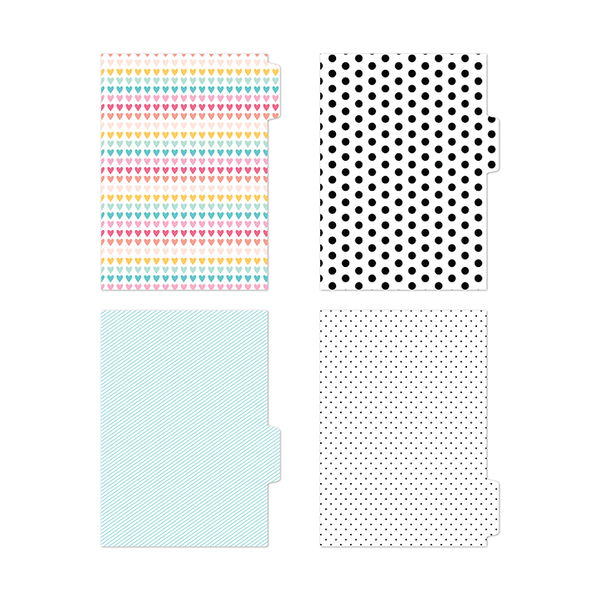Alexis | A5 tabbed dividers