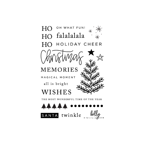 Holly | Stamp Set