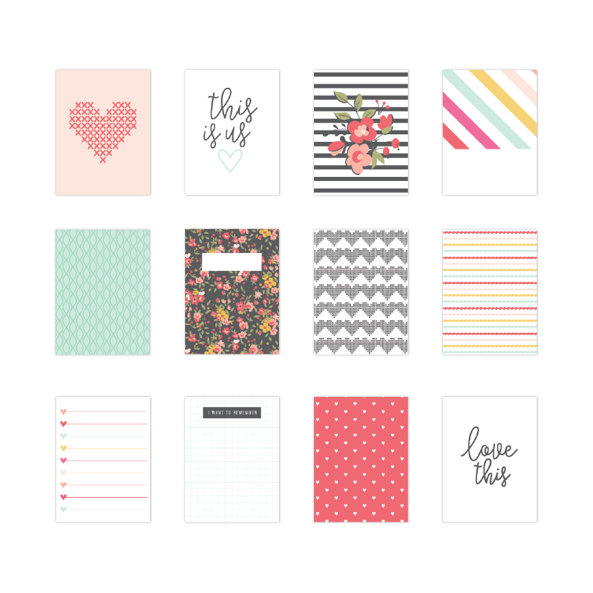 Lindsey | Journaling Cards