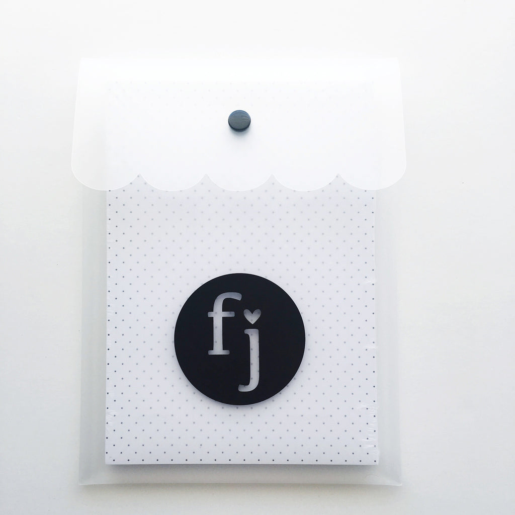 Plastic Snap Closure Storage Envelope