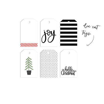 Hello Christmas | Designer Tags