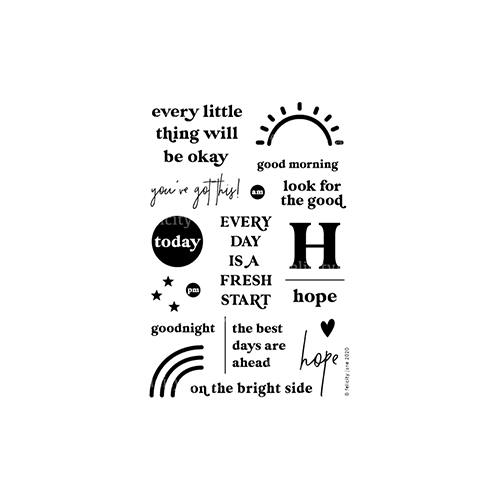 Hope | Stamp Set