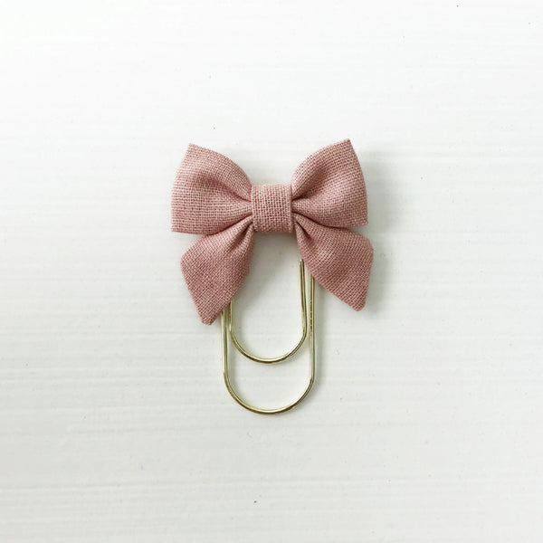 Mini Fabric Bow Clip | Rebekah Rose