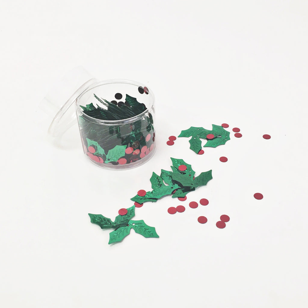 Holly Confetti