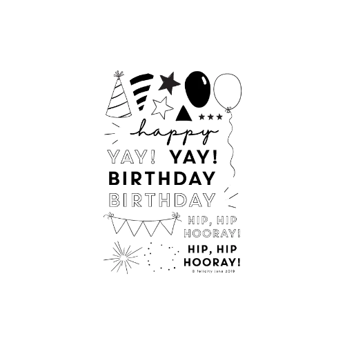 Hip Hip Hooray! | Stamp Set