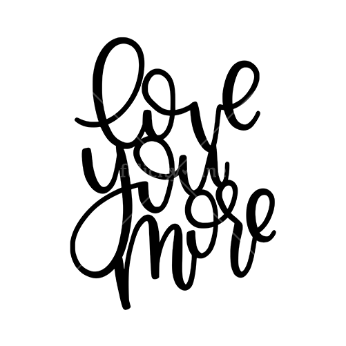 cut file | love you more