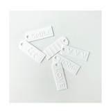 Madison | Embossed Tag Set