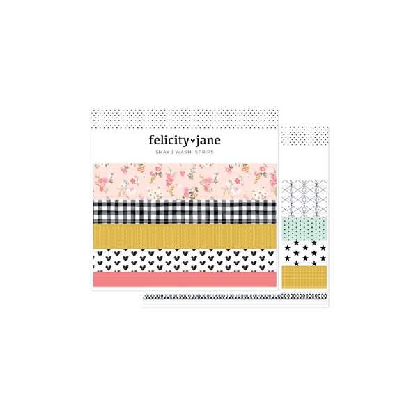 Shay | Washi Strips