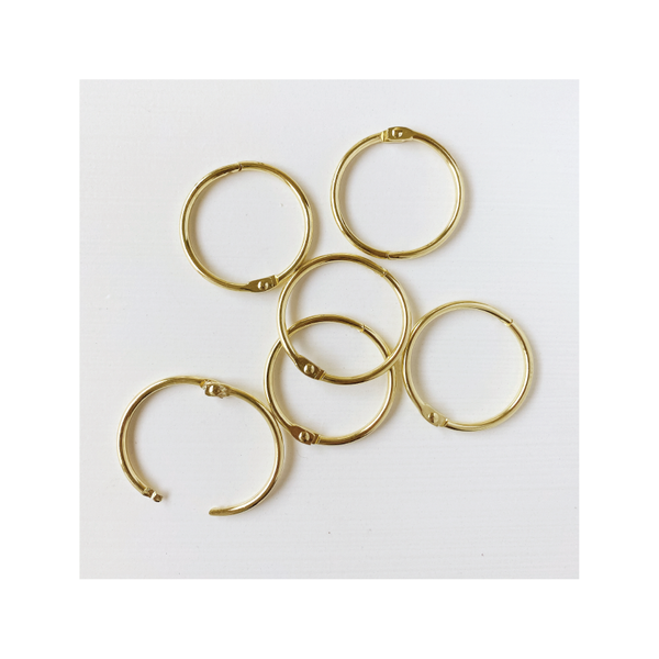 Essentials | Loose Leaf Rings : gold