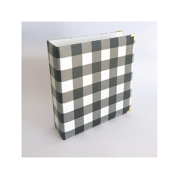 Holly | 6 x 8 album - Buffalo Plaid