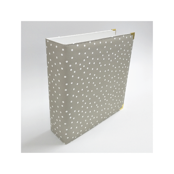 Holly | 6 x 8 album - Grey Dotted