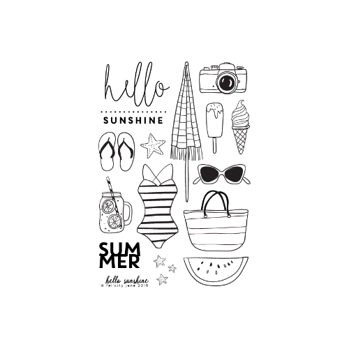 Hello Sunshine | Stamp Set