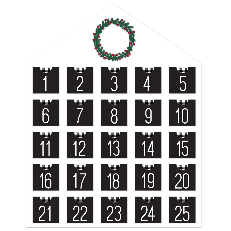 Cut File | Advent Calendar