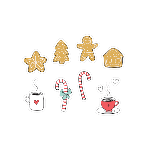 printable cut file | holiday sweets