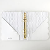 Note to Self Binder | White Scallop