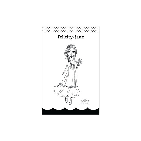Willow | Girl Stamp