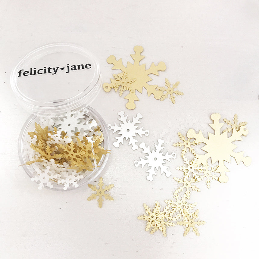 Holly | Snowflake Sequins