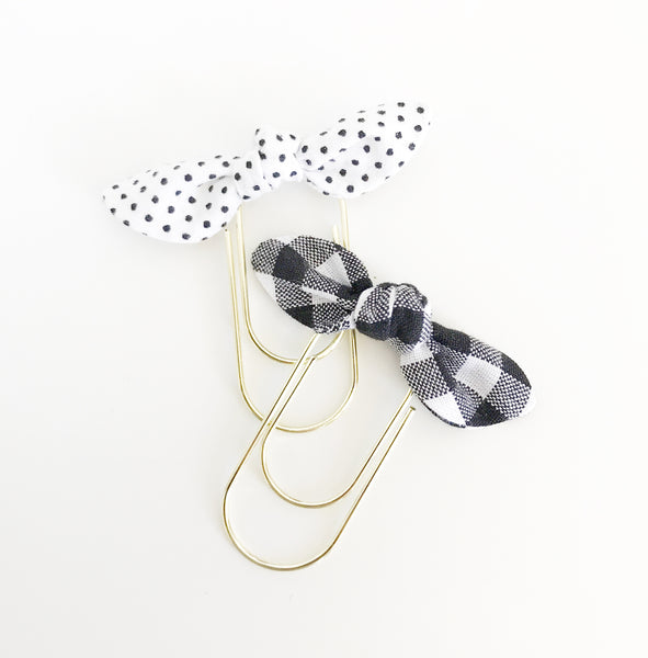 Lola | Mini Fabric Knot Clip