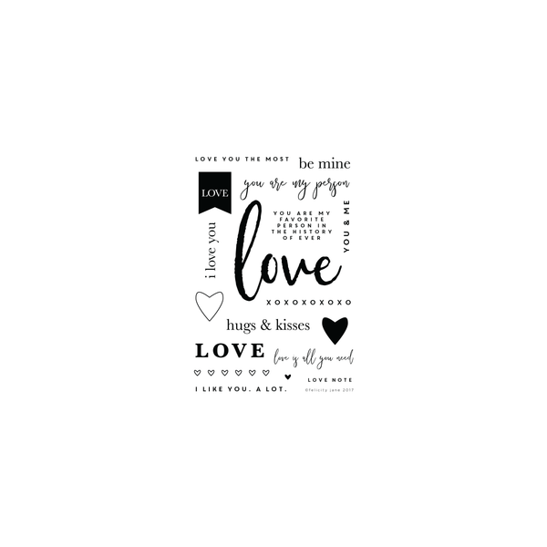 Love Note | Stamp Set