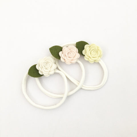 la petite - felt flower (headband only)