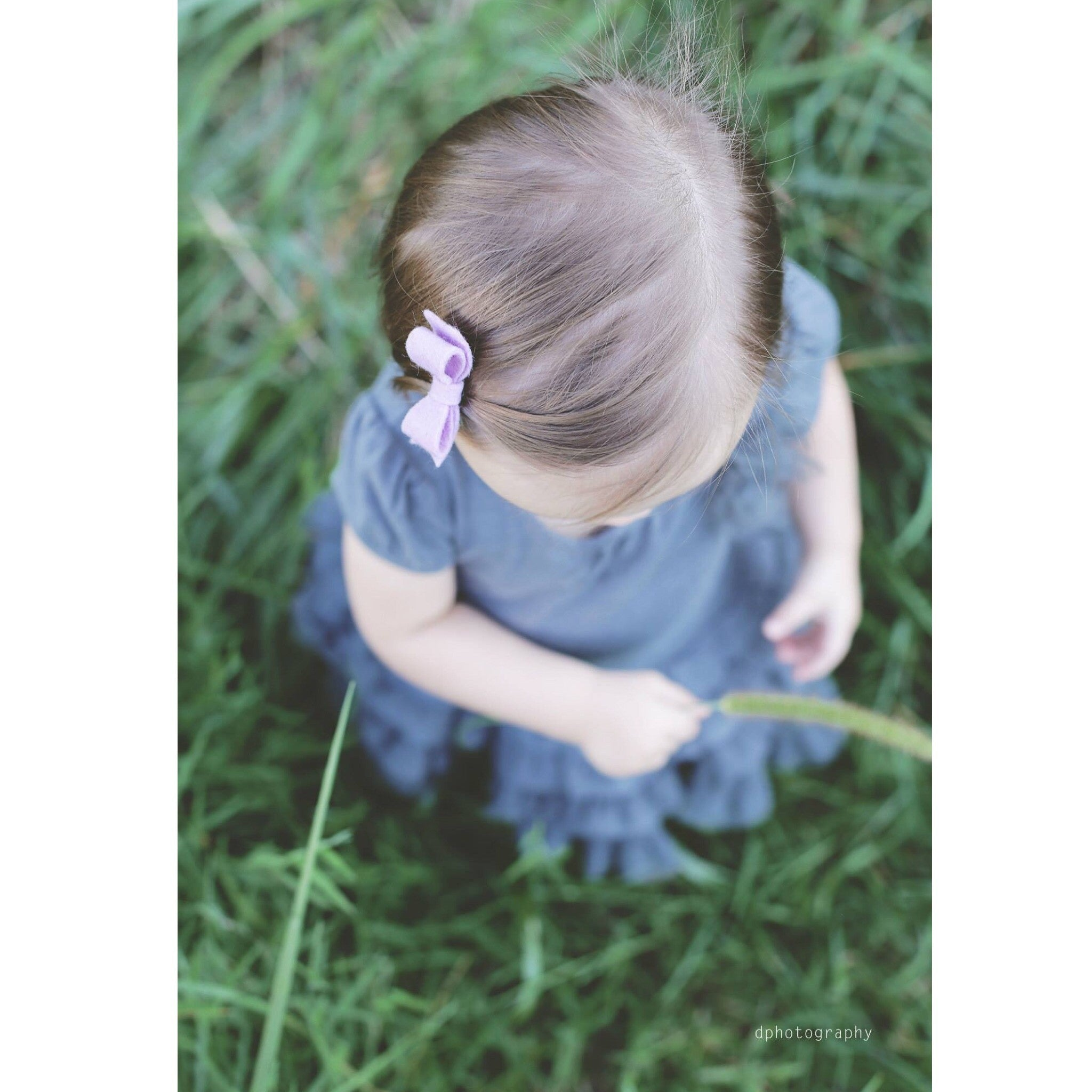 la petite felt hair clip (bow and flower option)