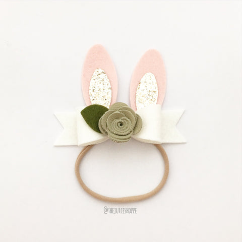 bunny ear Avery - leather
