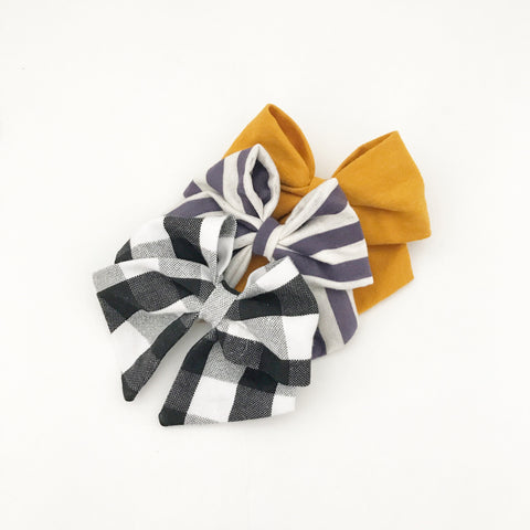 fall inspired - blair bow