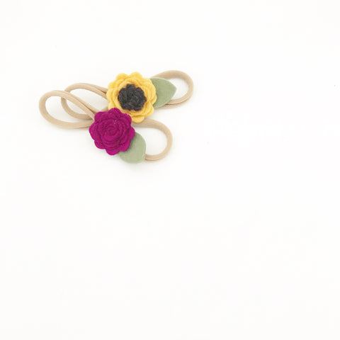 la petite - sunflower (headband only)
