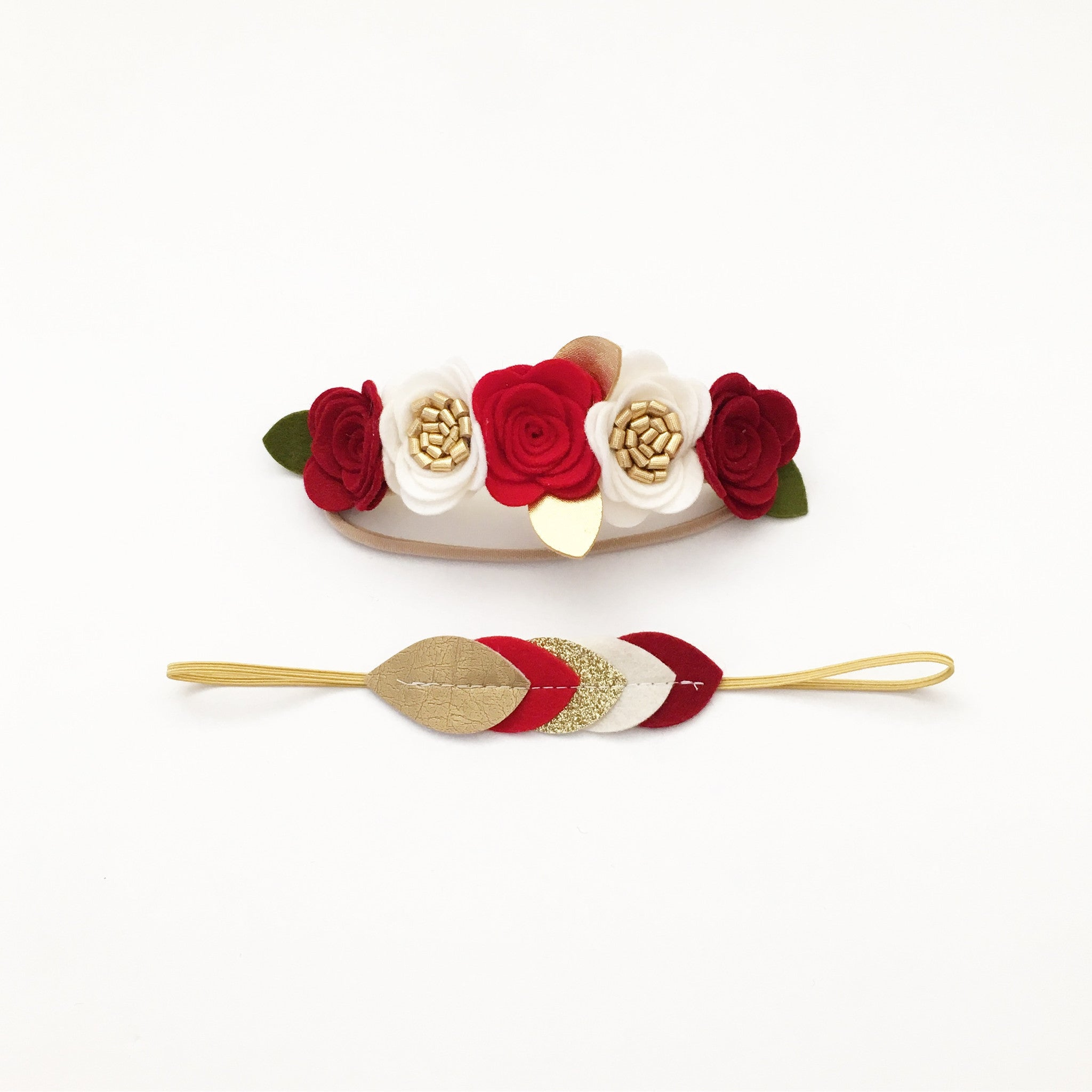 holiday oversized flower crown