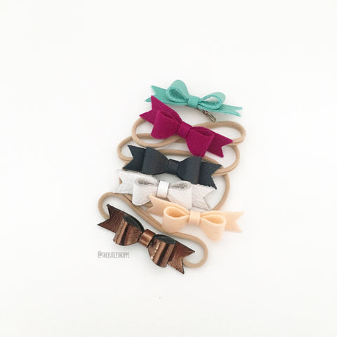 la petite - special edition bows (headband or clip)
