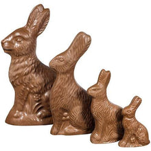 Load image into Gallery viewer, Solid Chocolate Easter Bunnies