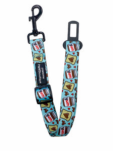 Seat Belt Restraint - Nutty Pup - Mint