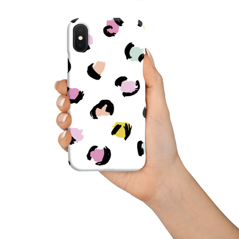 Phone Case - Pastel Leopard