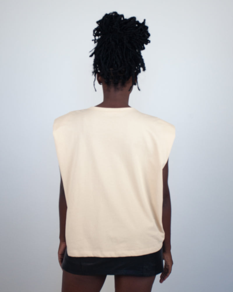 High Standards T-Shirt- Beige