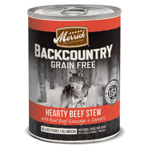 Merrick Backcountry Grain Free - Hearty Beef Stew