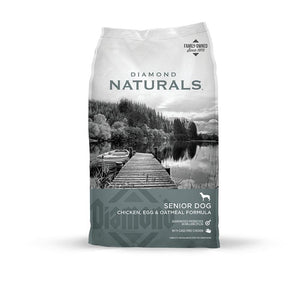Diamond Naturals Senior Chicken, Egg & Oatmeal Dry Dog Food