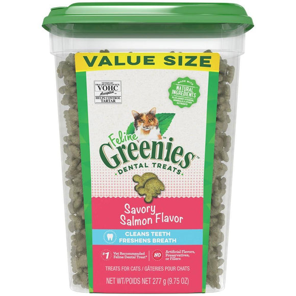 FELINE GREENIES™ Dental Treats Savory Salmon Flavor